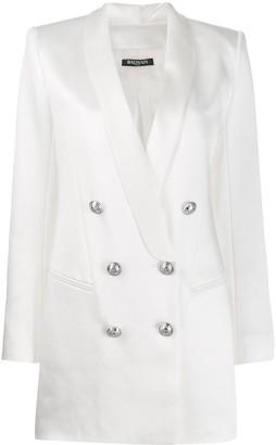 Balmain Double-Breasted Blazer Dress