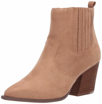 The Drop Sia Pointed Toe Western Ankle Boot womens Sia Pointed Toe Western Ankle Boot Ankle Boot