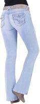 Amethyst Jeans Loren Back-Button Flare Jeans
