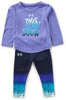 Under Armour Baby Girls 12-24 Months This is My Show Top & Leggings Set