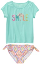Crazy 8 Smile Rash Guard Set