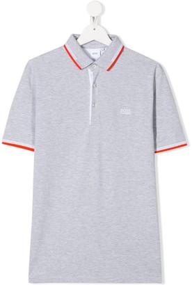 Boss Kidswear TEEN pique polo shirt