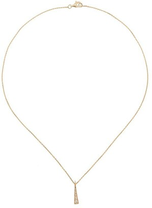 Daou 18kt yellow gold Spark diamond convertible necklace