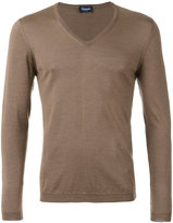 Drumohr v-neck jumper - men - Cashmere/Silk - 46