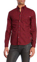 Timberland Flannel Gingham Button-Down Shirt