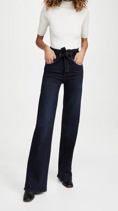 Veronica Beard Jeans Rosanna High Rise Tie Waist Jeans