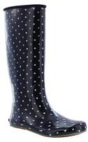 Western Chief Women's Packable Polka Dot Rain Boots - Black