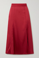 Stine Goya Jada Satin Midi Skirt