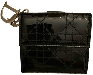 Christian Dior Black Patent leather Purses, wallets & cases