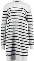 Tom Tailor STRIPES Jumper dress light grey