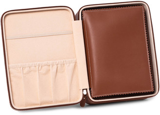 Bey-Berk Drake Leather Travel Watch Case