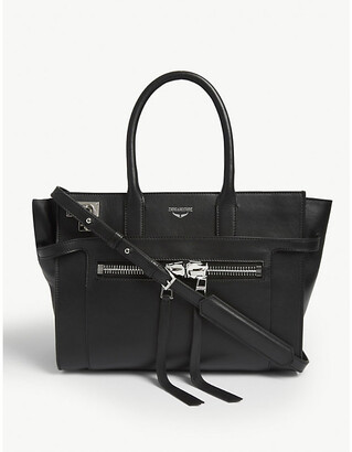 Zadig & Voltaire Medium Candide leather tote bag