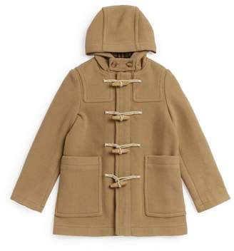 Burberry Kids Wool Hooded Coat (3-12 Years)