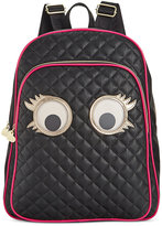 Betsey Johnson Googly Eyes Backpack