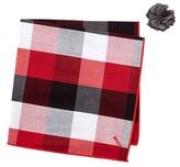 Alara Crissy Pocket Square & Lapel Pin Set