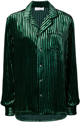 Faith Connexion Striped Single Pocket Shirt