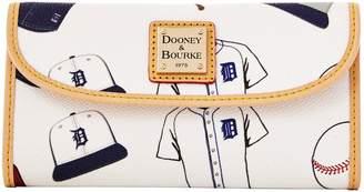 Dooney & Bourke MLB Tigers Continental Clutch