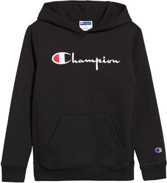 Champion Kids' Embroidered Premium Fleece Hoodie