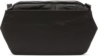 Côte and Ciel Black Coated Canvas Riss Bag