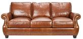 Safavieh Couture Brayton Leather Sofa