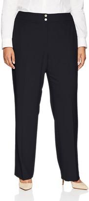 Calvin Klein Women's Size Classic Fit Lux Pant