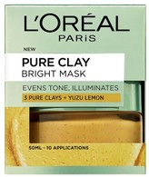 L'Oreal L Oreal Paris Pure Clay Bright Face Mask 50ml