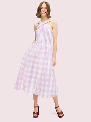 Kate Spade Gingham Organza Dress