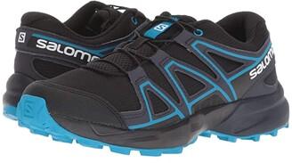 Salomon Speedcross (Little Kid/Big Kid) (Black/Graphite/Hawaiian Surf) Kids Shoes