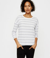 Lou & Grey Striped Drop Shoulder Petalsoft Tee