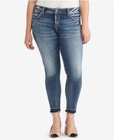 Silver Jeans Co. Trendy Plus Size Elyse Cropped Jeans