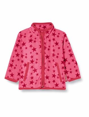 Playshoes Baby Girls' Fleece-Jacke Sterne Jacket