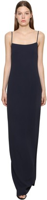Ralph Lauren Collection Long Stretch Cady Dress