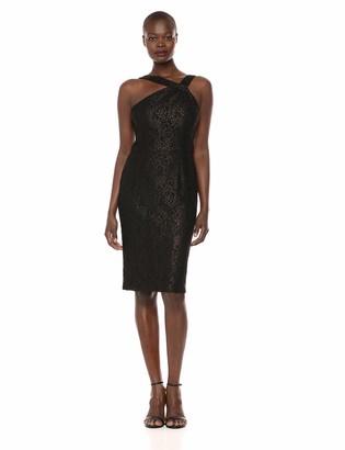 Ignite Women's Cocktail Knee Length Dress