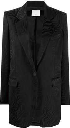Sandro Celine single breasted jacket