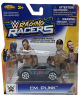 WWE CM Punk Raging Racers Race Car