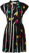 Saint Laurent babydoll lavaliere star dress