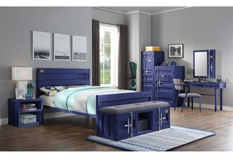 Zoomie Kids Otero Single Door Armoire Color: Blue