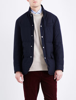 Brunello Cucinelli Quilted down wool-blend coat