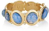 Kenneth Jay Lane Opal Hinged Bracelet
