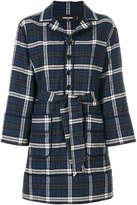 DSQUARED2 tartan pattern shirt dress