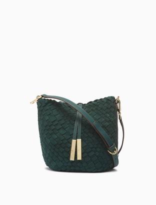 Calvin Klein Naomi Woven Bucket Bag