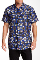 Robert Graham Ocean Depths Short Sleeve Classic Fit Shirt