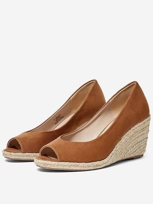 Dorothy Perkins Damsel Wedge Shoe - Tan