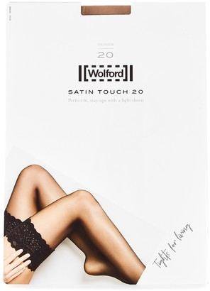Wolford Satin Touch fairly light 20 denier hold-ups