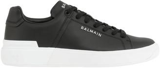 Balmain Smooth Leather Sneaker