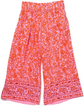 Billabong Waves Over Smocked Printed Pants
