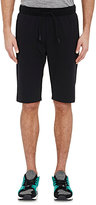 Theory MEN'S STRETCH-JERSEY DRAWSTRING SHORTS-BLACK SIZE XL