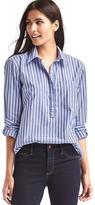 Boyfriend stripe popover tunic