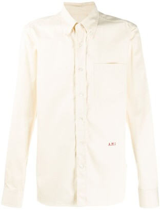 Ami embroidered shirt