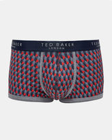 Ted Baker Geo print organic cottonblend boxer shorts